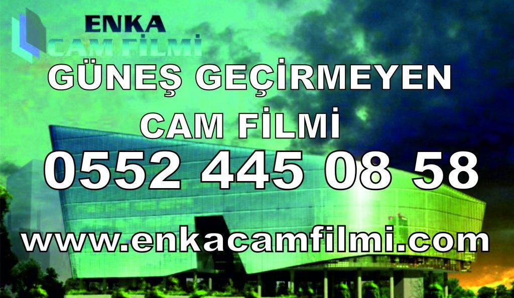 Güneş Geçirmeyen Cam Filmi Uygulama