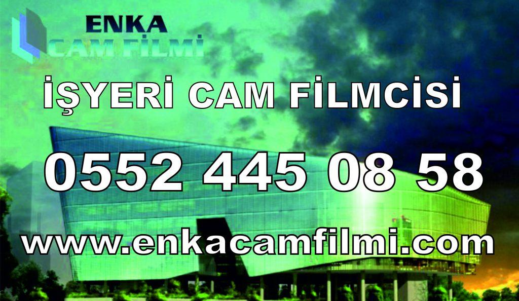 İşyeri Cam Filmi Uygulaması